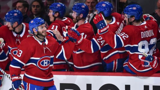 Montreal Canadiens defenseman Victor Mete's long wait for first goal is over