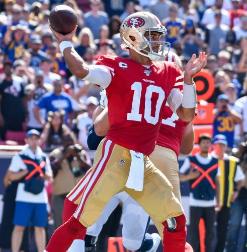 Fantasy football deep sleepers: Niners' Jimmy Garoppolo goes for the gold