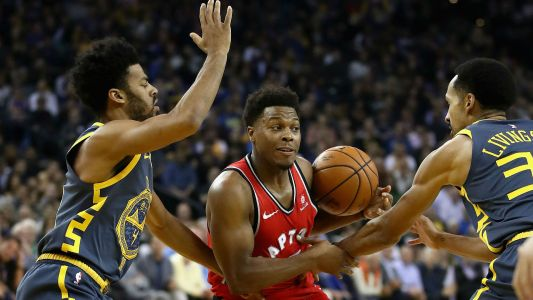 NBA wrap: Raptors complete regular-season sweep of Warriors
