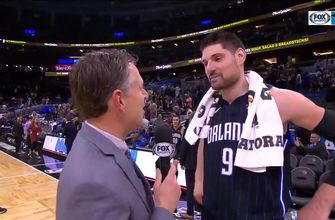 Nikola Vucevic talks about Magic's recent success after winning 3rd straight