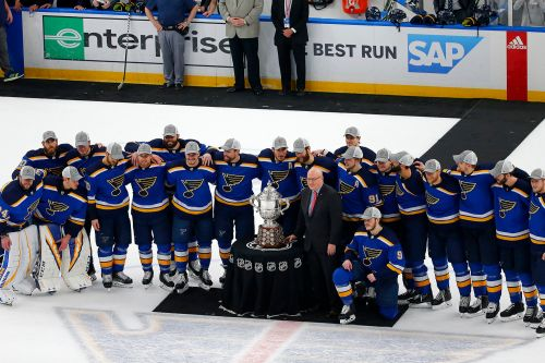 Blues nip Sharks on way to first Stanley Cup Final in decades