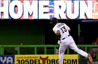 Marlins rally from 4-run deficit to complete comeback against Nationals 8-5