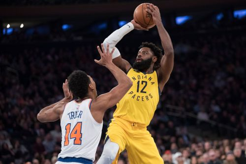 Sabonis sharp again at MSG, Pacers beat Knicks 121-106