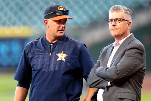Astros' A.J. Hinch, Jeff Luhnow suspended for full season after MLB's sign-stealing probe