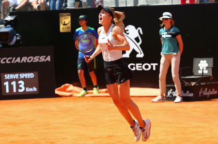 Svitolina dominates Halep to defend Italian Open crown