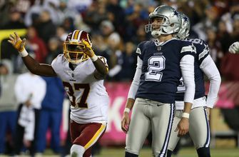 PHOTOS: Late call costly as Cowboys fall to Redskins 20-17