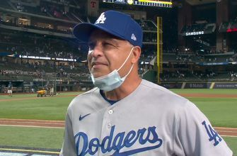Dave Roberts walks through his World Series Game 5 maneuvering as Dodgers go up 3-2