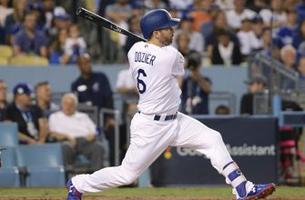 Brian Dozier's 2-out RBI gives the Dodgers an early lead