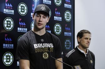 Defenseman Carlo signs 2-year extension with Bruins