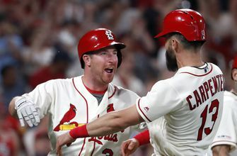 Gyorko homers as Cardinals rally past Braves 6-3