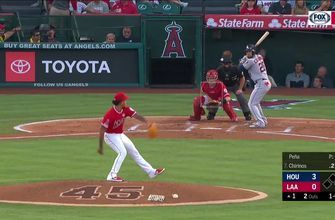 HIGHLIGHTS: Angels winning streak comes to an end as they struggle to get much going at the plate
