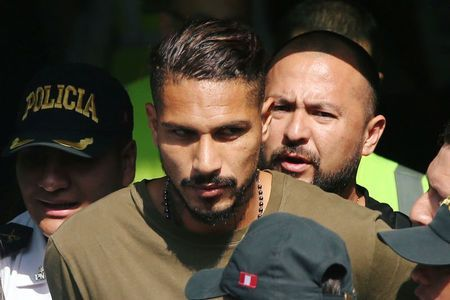 Soccer-Players' union asks FIFA to allow Guerrero to play in the World Cup