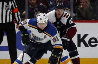 NHL honors Tarasenko as its second star of the week