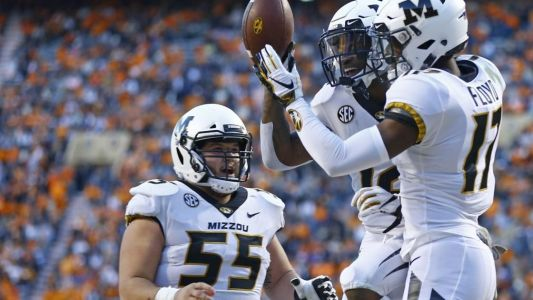 Mizzou's Floyd knocked out on punt return