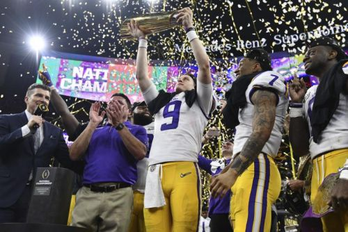 LSU beats Clemson for College Football Playoff national championship