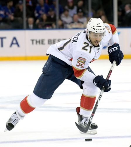Panthers' Trocheck nearing a return after broken ankle