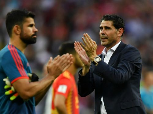 Blame me - Hierro takes responsibility for Spain World Cup exit
