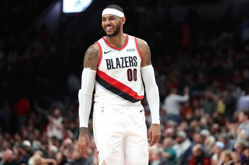 Carmelo Anthony's contract with Blazers will be fully guaranteed