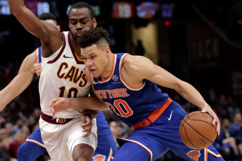 Kevin Knox puts one on highlight reel, but not in Knicks 'W' column