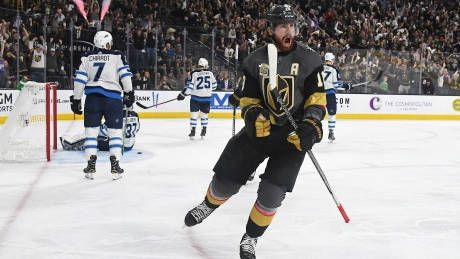 Jets drop 2nd in a row as Fleury's heroics give Knights 2-1 series lead