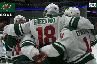 WATCH: Wild score 5 goals in win over Columbus