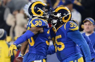 RB tandem of Todd Gurley, C.J. Anderson could carry Rams to Super Bowl berth