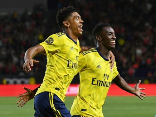 Nketiah gives youthful Arsenal friendly win over Bayern