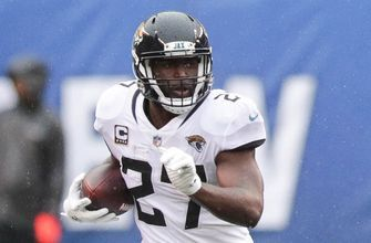 Jaguars list RBs Leonard Fournette, T.J. Yeldon as questionable for game against Titans