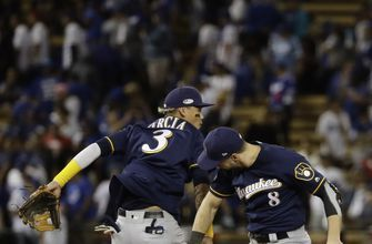 Brewers, Dodgers tweak lineups for Game 4 of NLCS