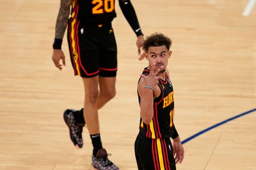 Knicks the latest to ban fan indefinitely after he spat on Hawks' Trae Young