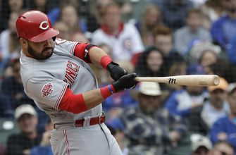 Suárez hits 2-run homer in 9th as Reds beat Cubs 6-5