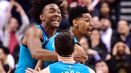Hornets sting Raptors with halfcourt buzzer-beater