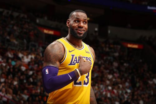 Kyle Kuzma Says LeBron James 'Can Score With the Best of Them'