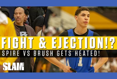LaMelo Ball & SPIRE Win HEATED Battle vs Brush 😤