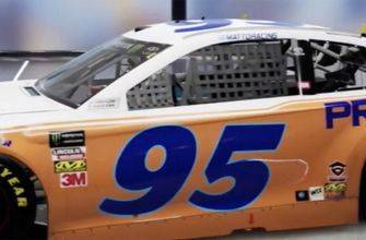 Matt DiBenedetto's Sonoma paint scheme is a tribute to Darrell Waltrip