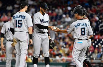 Marlins' 7-game winning streak snapped in 12-10 loss to Nationals
