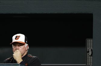 Orioles fall to Blue Jays 5-0, tie 1988 team with 107 losses