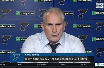 Craig Berube: Vince Dunn 'can't get walked one-on-one'