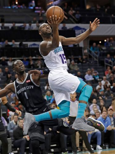 Lamb's jumper helps Hornets beat Pistons 108-107 in wild win