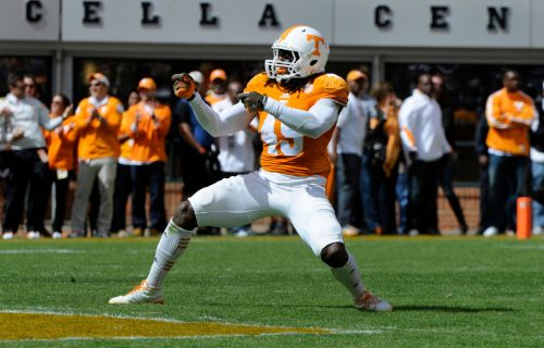 Former Tennessee LB A.J. Johnson signs with Broncos after being acquitted of rape charges