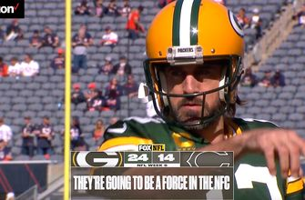 'They're going to be a force in the NFC' - Joe Davis and Greg Olsen react to Packers' 24-14 victory over Bears