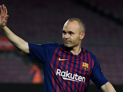 Barcelona icon Iniesta completes move to Japanese side Vissel Kobe