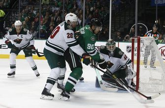 Suter has winning goal, 2 assists as Wild beat Stars 3-1