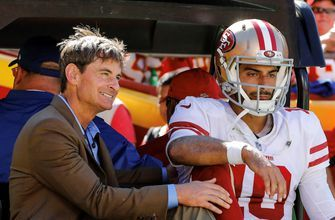 Colin Cowherd is adamant Jimmy G needed to 'live for another down' against the Chiefs