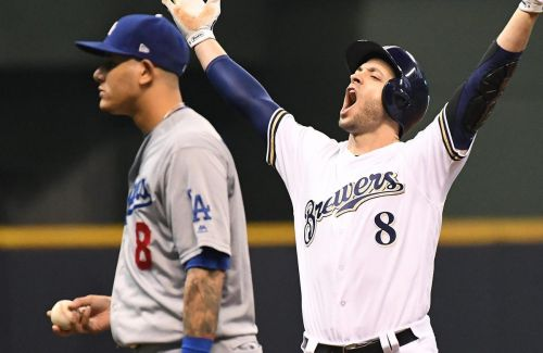 Brewers thump Dodgers to force Game 7 in NLCS