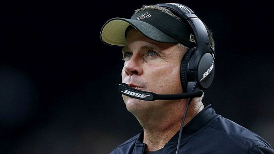 Saints coach Sean Payton smashed fire alarm in locker room before win over Bengals