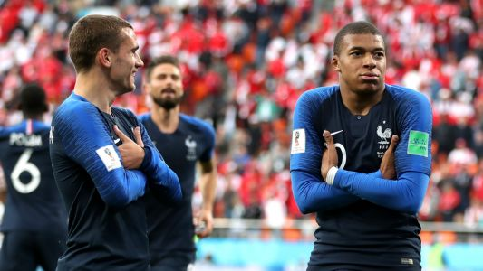 Mbappe sets new France record with opener against Peru