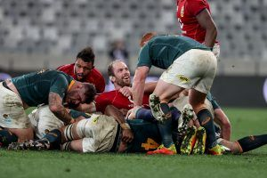 Lions beat Springboks in first Test
