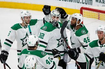 Stars win second straight with 3-1 victory over the Wild