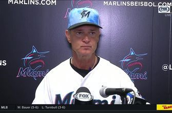 Don Mattingly on Sandy Alcantara, Marlins series finale loss